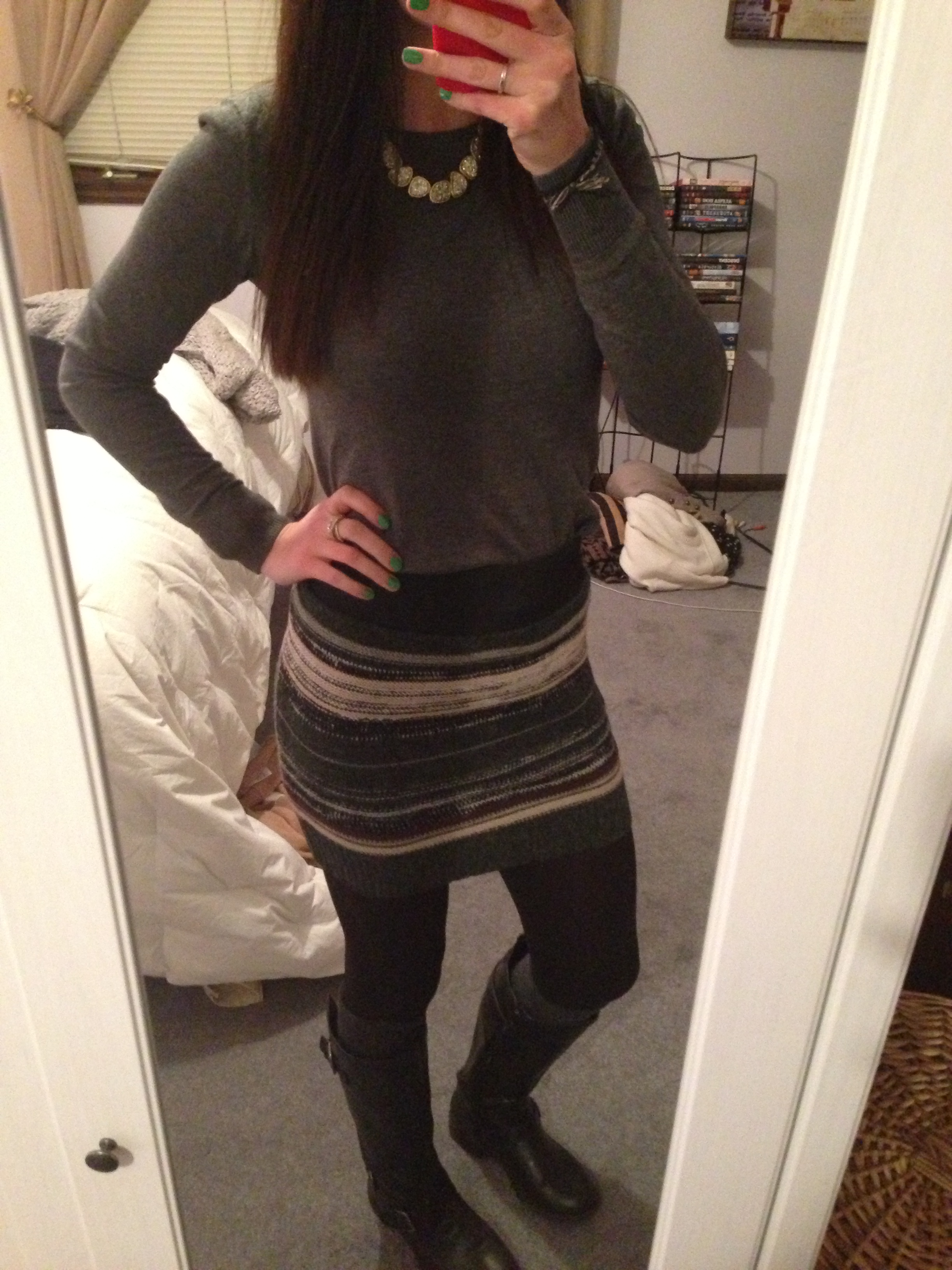 What Wear Knee High Boots 2013